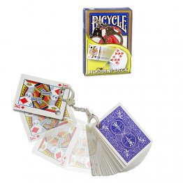 BICYCLE  HOUDINI DORSO BLU con manette