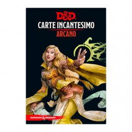 D&D CARTE INCANTESIMO - ARCANO