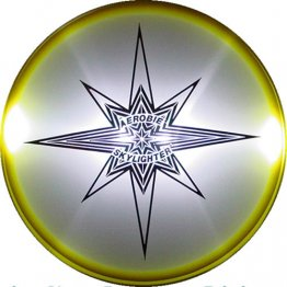 FRISBEE LUMINOSO SKYLIGHTER 30 CM
