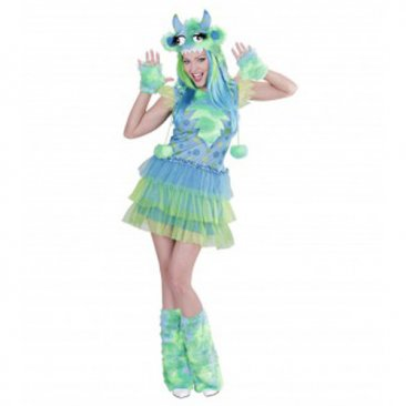 AFFITTO COSTUME MOSTER ALLERGY VERDE